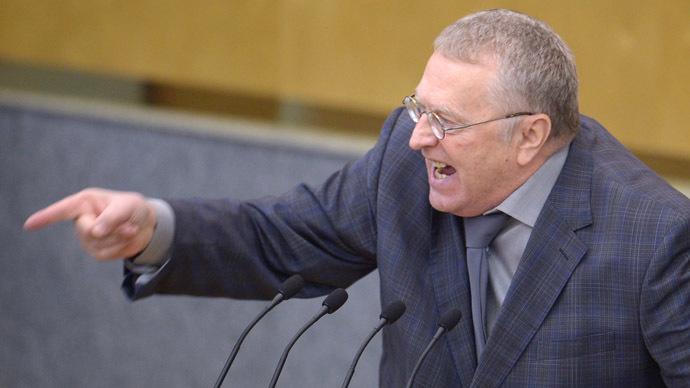 Liberal Democratic Party leader Vladimir Zhirinovsky (RIA Novosti/Grigoriy Sisoev)