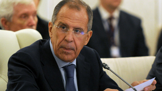 Russia's Foreign Minister Sergey Lavrov (AFP Photo)