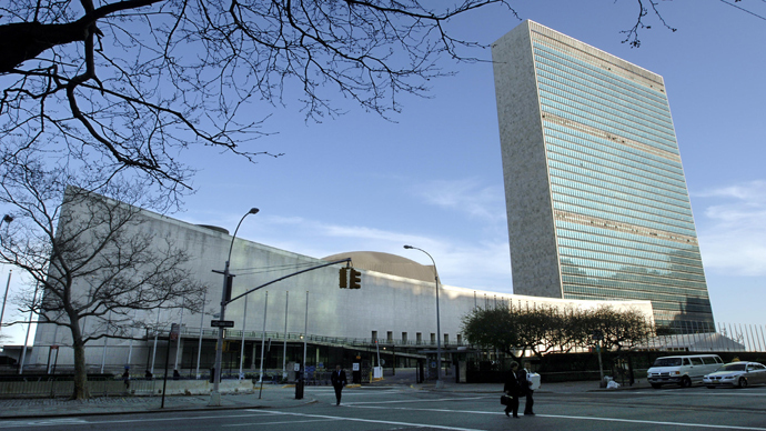 United Nations headquarters in New York City (AFP Photo / Stan Honda)
