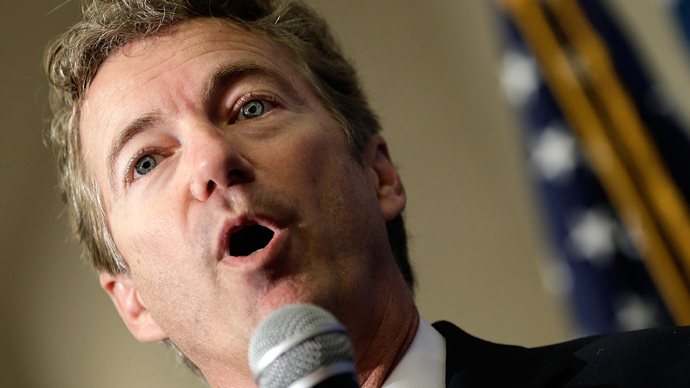 Sen. Rand Paul (AFP Photo / Win McNamee)