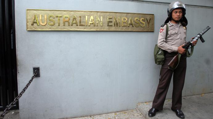 Australian embassy, Jakarta (AFP Photo)