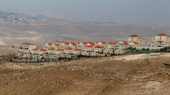 A view of the West Bank Jewish settlement of Maale Adumim (front) is seen near Jerusalem (Reuters)