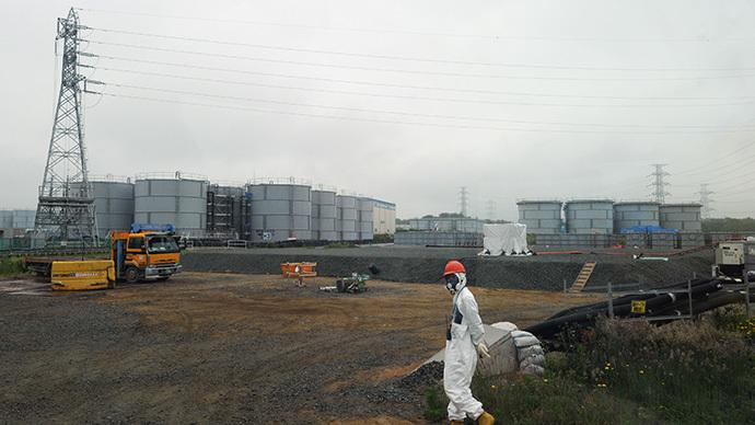 Japan's Fukushima Dai-ichi nuclear plant in Okuma town in Fukushima prefecture (AFP Photo / Toshifumi Kitamura)