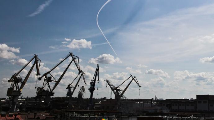 Baltiysky Zavod Shipyard (RIA Novosti/Alexei Danichev)