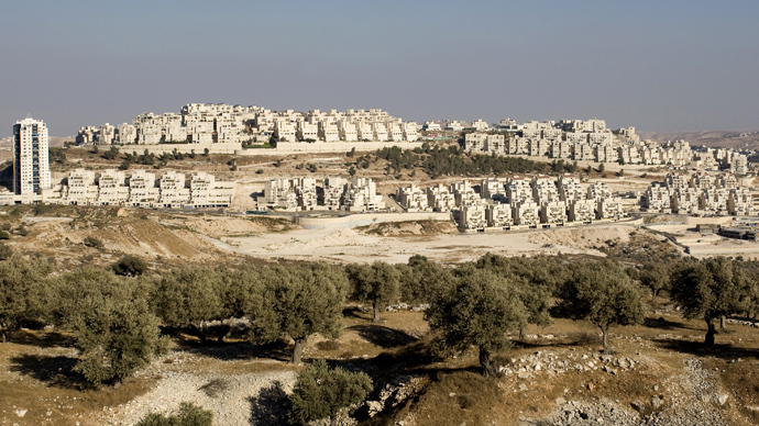 Jewish settlement of Har Homa in Arab east Jerusalem (AFP Photo / Ahmad Gharabli)
