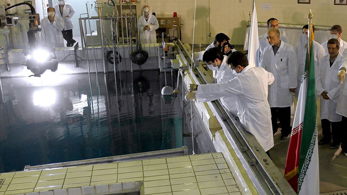 Tehran's research reactor centre (AFP Photo)