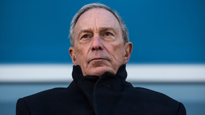 Outgoing Mayor of New York City Michael Bloomberg (AFP Photo / Andrew Burton)