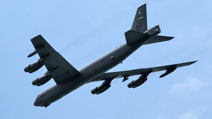 A US Air Force B-52 bomber (AFP Photo / Roslan Rohman)