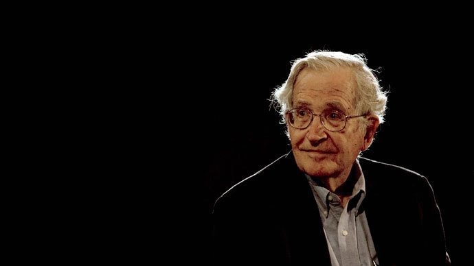 U.S. linguist and philosopher Noam Chomsky.(Reuters / Jorge Dan)