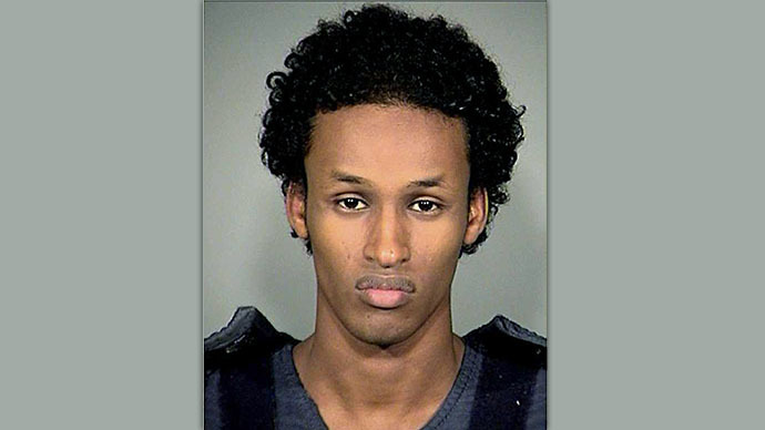 Mohamed Osman Mohamud, 19 (AFP Photo / Multnomah County Sheriff's Office)