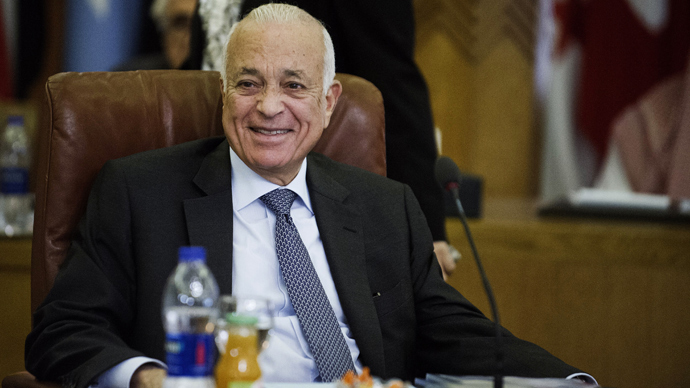 Arab League secretary general Nabil al-Arabi (AFP Photo)