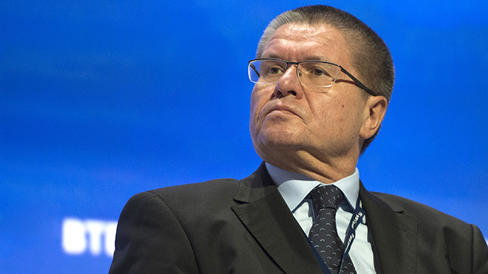 Russian Minister of Economic Development Alexei Ulyukayev (RIA Novosti / Iliya Pitalev)