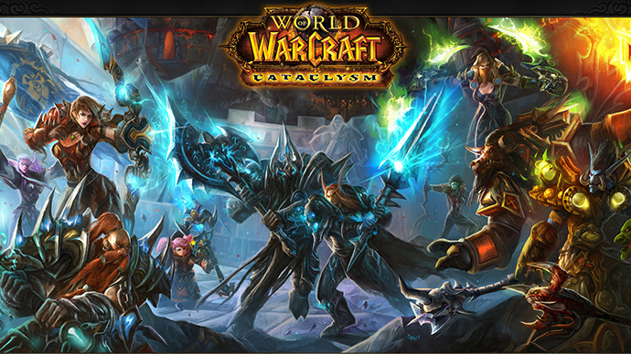 World of Warcraft (Image from todofondosdejuegos.com)