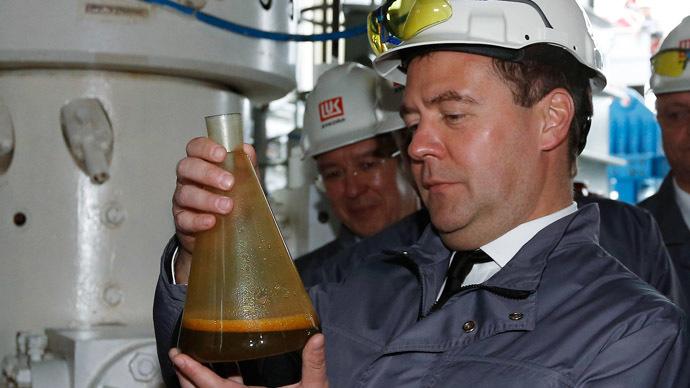 Prime Minister Dmitry Medvedev (RIA Novosti/Dmitry Astakhov)