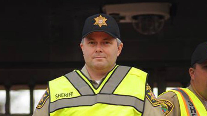 Pickens County Sheriff Rick Clark (Photo from facebook.com/sheriffclark)