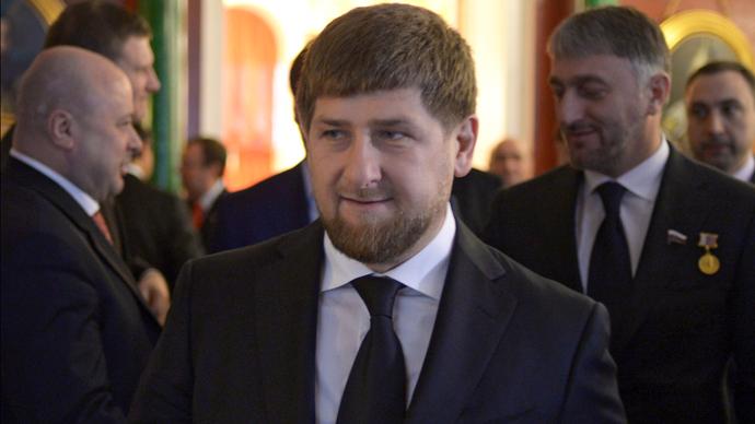 President of Checnya Ramzan Kadyrov (RIA Novosti / Grigoriy Sisoev)