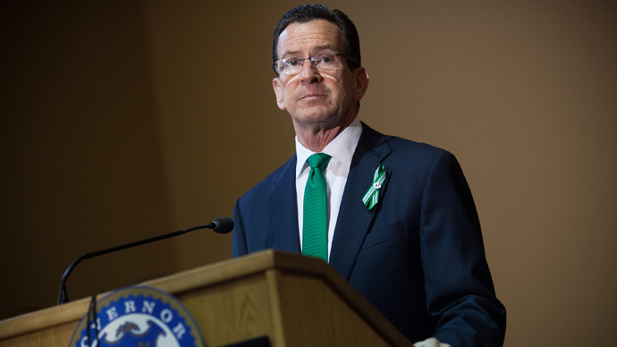 Connecticut Gov. Dannel Malloy (Christopher Capozziello / Getty Images / AFP)