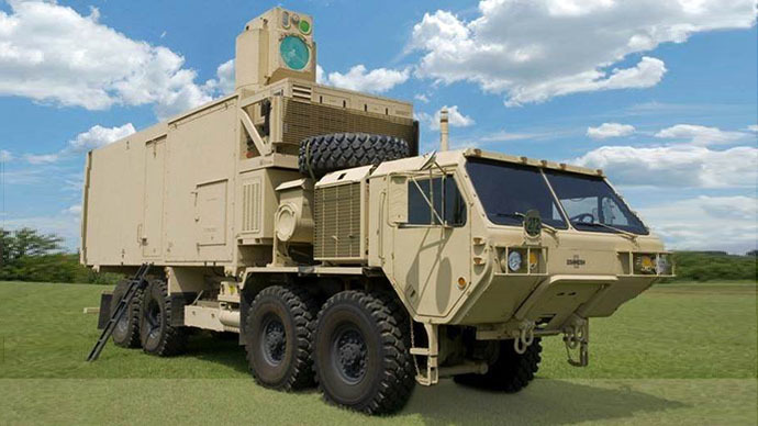 High Energy Laser Mobile Demonstrator (HEL MD) (Image from army.mil)