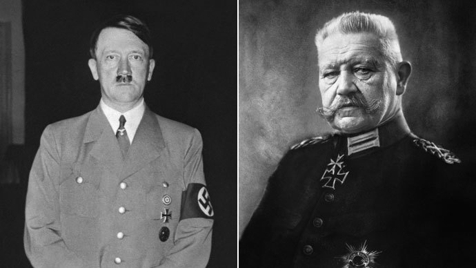 Adolf Hitler, Paul von Hindenburg.(AFP Photo)