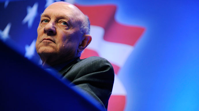 Former director of the U.S. Central Intelligence Agency James Woolsey.(Reuters / Jonathan Ernst)