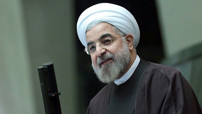 Islamic Republic's President Hassan Rouhani (AFP Photo / HO / Iranian Presidency Website)