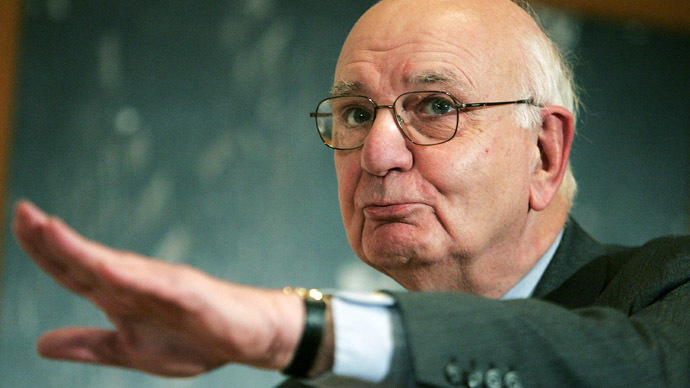 Former Chairman of the U.S. Federal Reserve Paul Volcker (Mario Tama/Getty Images/AFP)