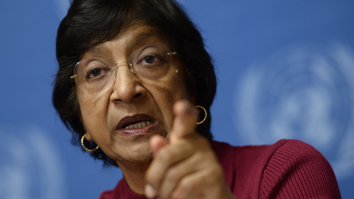 UN High Commissioner for Human Rights Navi Pillay (AFP Photo)