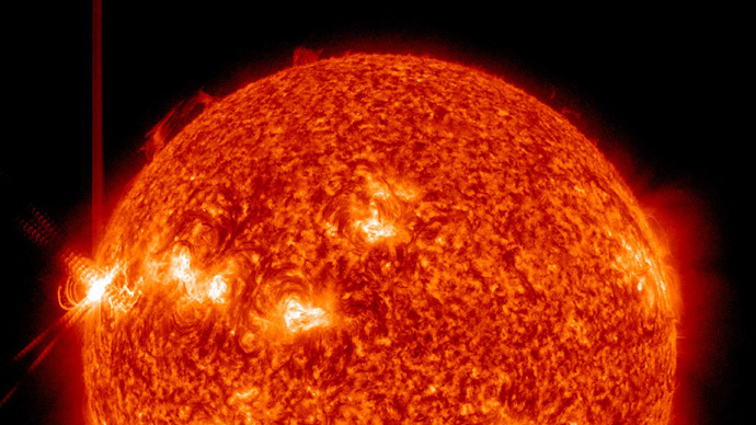 AFP Photo / Handout / NASA / Solar Dynamics Observatory(SDO)
