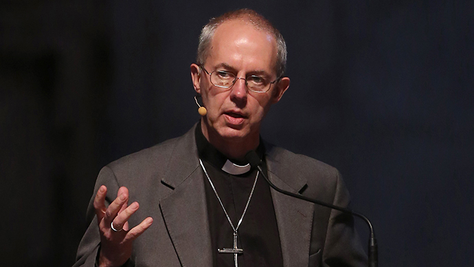 Justin Welby, the Archbishop of Canterbury (AFP Photo / Gareth Fuller)