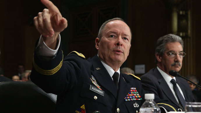 Director of the National Security Agency Gen. Keith Alexander.(AFP Photo / Alex Wong)