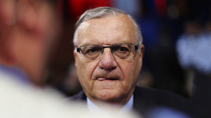Maricopa County, Arizona Sheriff Joe Arpaio (AFP Photo / Getty Images / Spencer Platt)