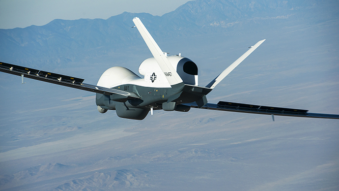 The Triton unmanned aircraft system (Reuters / U.S. Navy Photographer)