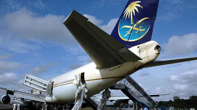 Saudi Arabian Airlines Boeing 747 (AFP Photo / STR)