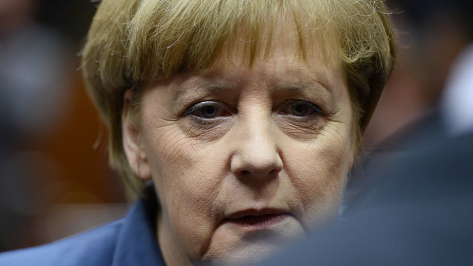 German Chancellor Angela Merkel. (AFP Photo / Lionel Bonaventure)