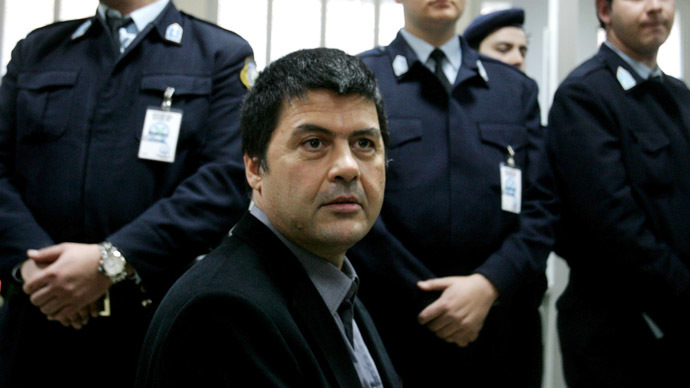 Christodoulos Xiros. File Photo. (Reuters/Yiorgos Karahalis)