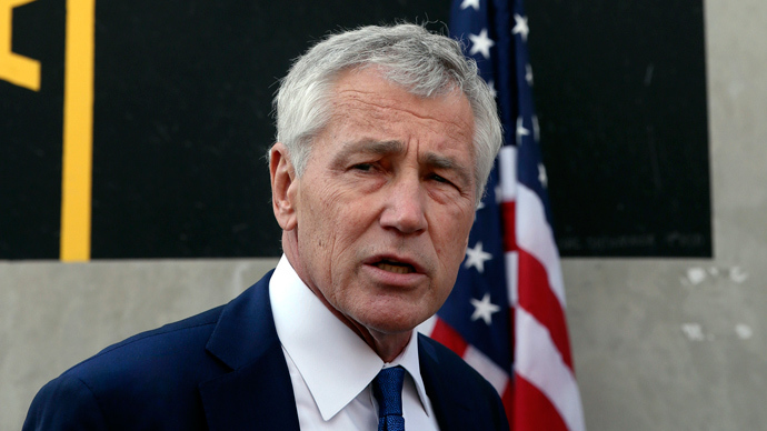U.S. Secretary of Defense Chuck Hagel (Reuters / Mark Wilson)