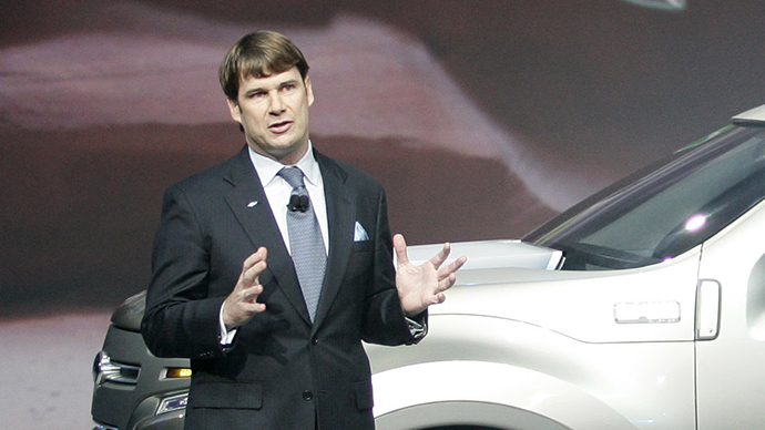 Ford Motor Co. marketing chief Jim Farley (AFP Photo / Geoff Robins)