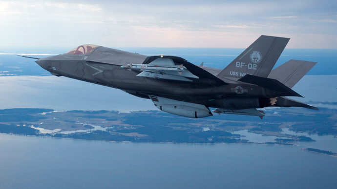 F35 Joint Strike Fighter (Reuters / Lockheed Martin)