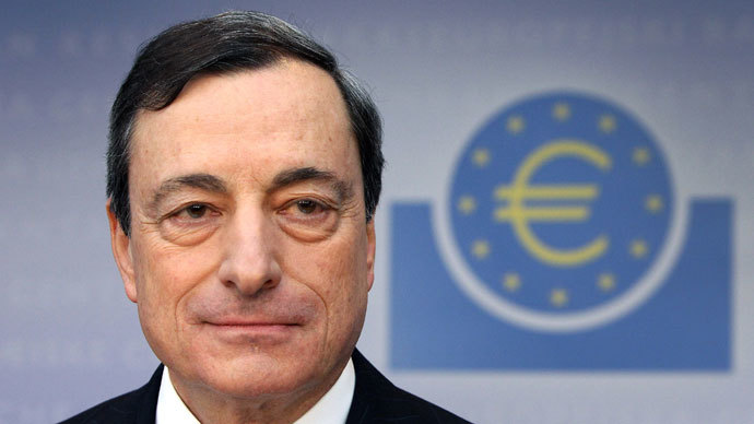 Mario Draghi, President of the European Central Bank.(AFP Photo / Daniel Roland)