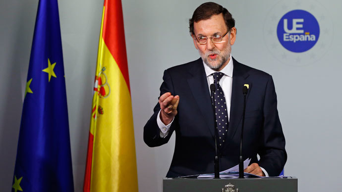 Spain's Prime Minister Mariano Rajoy.(Reuters / Yves Herman)