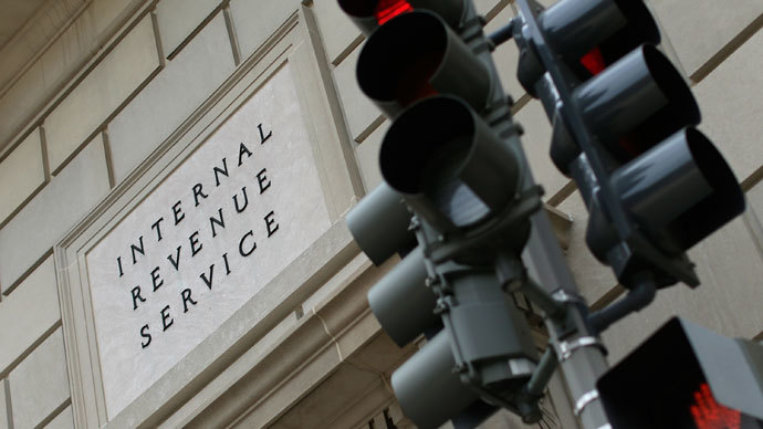 The Internal Revenue Service Building is shown July 22, 2013 in Washington, DC.(AFP Photo / Win McNamee)
