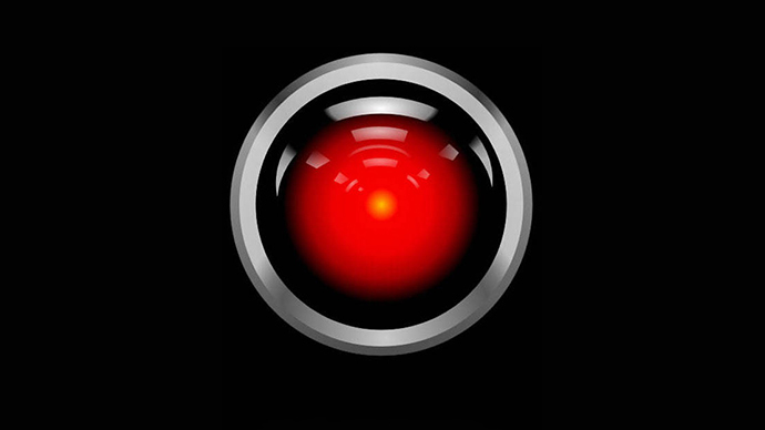 HAL 9000, the intelligent computer from Stanley Kubrick's '2001: A Space Odyssey'