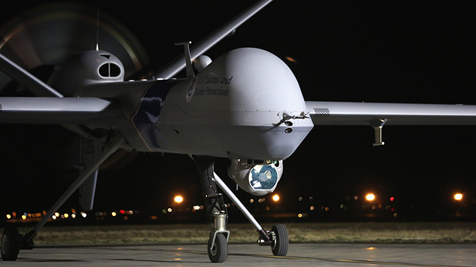 A Predator drone operated by U.S. Office of Air and Marine (OAM) (AFP Photo / John Moore)