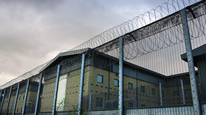 The Harmondsworth Detention Centre near London's main Heathrow airport (AFP Photo/Adrian Dennis)
