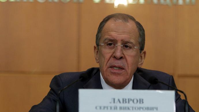 Russian Foreign Minister Sergey Lavrov (RIA Novosti/Vitaly Belousov)
