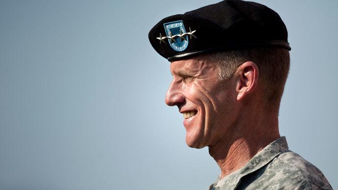 Army Gen. Stanley McChrystal.(AFP Photo / Brendan Smialowski)