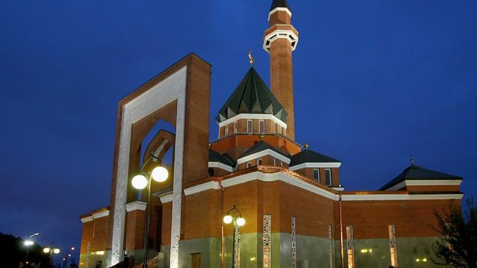 A memorial mosque on Poklonnaya Hill on Minskaya Street in Moscow (RIA Novosti / Ruslan Krivobok)