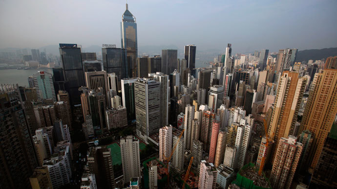 Hong Kong.(Reuters / Bobby Yip)