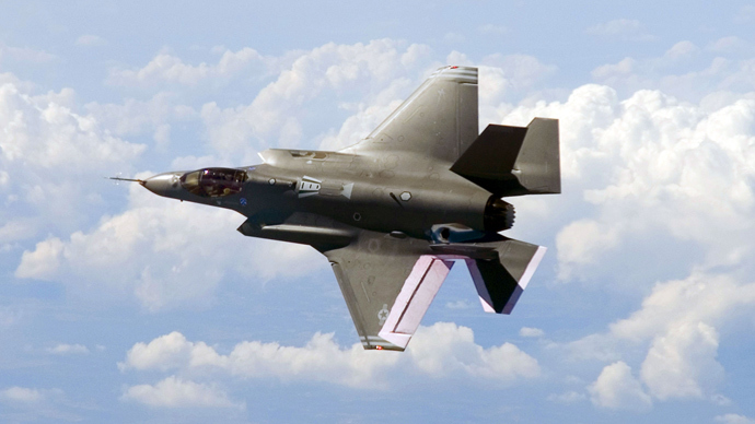 F-35 fighter jet (AFP Photo / HO)