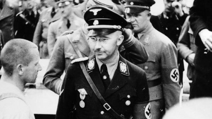 Heinrich Himmler (Photo from Wikipedia.org)
